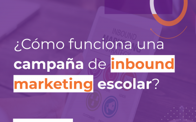 ¿Cómo funciona una campaña de inbound marketing escolar?
