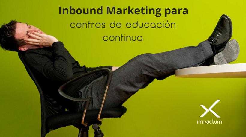 marketing educacion continua